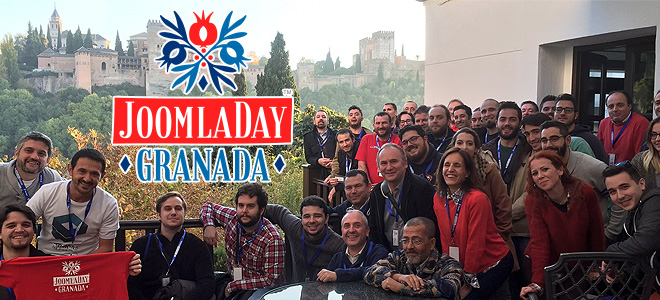 Disponibles los videos del JoomlaDay Granada 2016