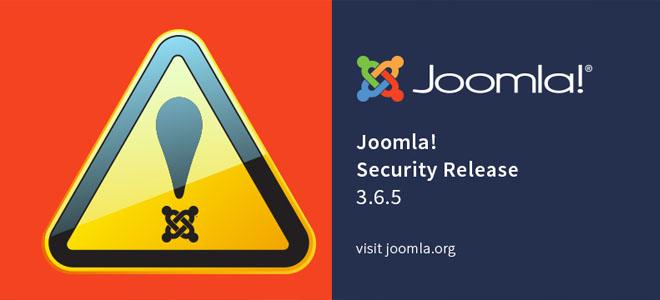 Joomla! 3.6.5 versión de seguridad