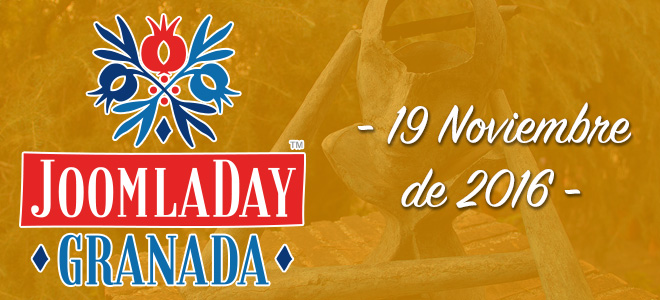 JoomlaDay Granada 2016 - no te quedes sin tu entrada