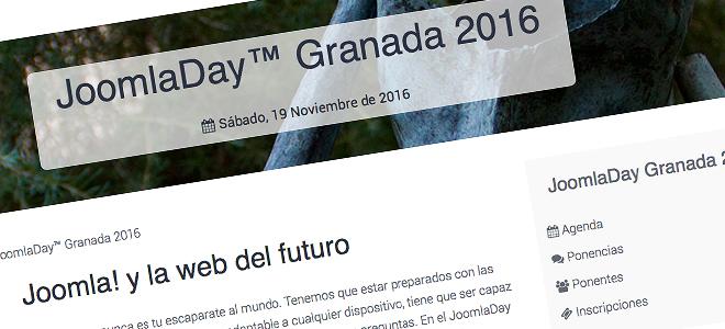 Nueva edición del JoomlaDay en Granada 2016