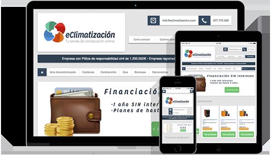 eClimatizacion - Desarrollo web