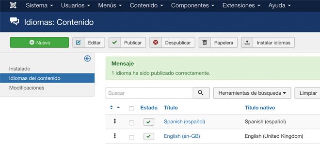 Lenguajes de contenido de forma automática