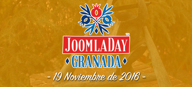 JoomlaDay Granada 2016 - Inscipciones abiertas